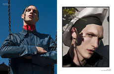 Vanguard Westerner Editorials - Schon Magazine's One Cowboy, Too Many Hats Story is Fashion-Forward