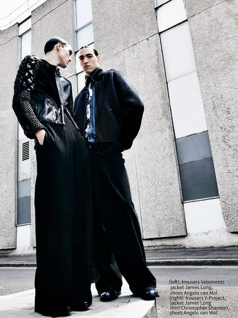 Urban Twin Editorials - F****** Young! Online