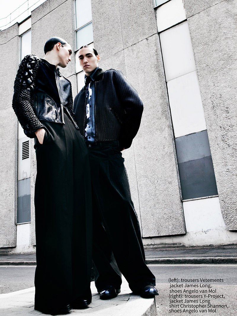 Urban Twin Editorials