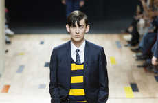 Luxe Ivy League Runways - The Dior Homme Spring/Summer 2015 Collection is Collegiate