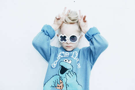 Quirky Kid's Eyewear - The Sons + Daughters Class of 2014 Collection is Adorably Stylish