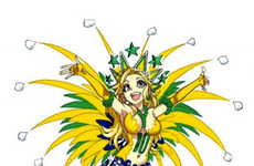 Anime World Cup Illustrations