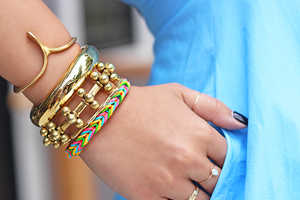 This Fishtail Braid Bracelet is a Chic and Fun DIY Project