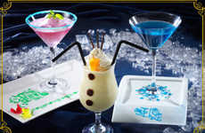 Cinematic Frozen Drinks - These Fun Beverages Take the Shape of Characters from Disney's Frozen
