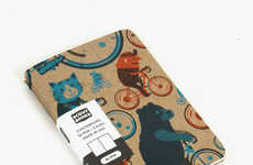 Sustainable Artisan Notebooks - These Environmentally Friendly Notebooks are Eclectic and Funky