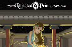Unapproved Disney Characters - Rejected Princesses by Jason Porath Have Unsavory Back Stories