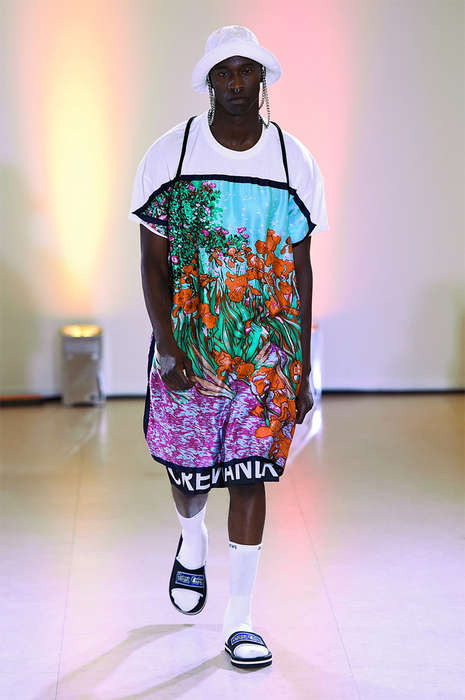 Hip-Hop Vacation Wardrobes - The Andrea Crews Spring/Summer 2015 Collection Displays Urban Opulence