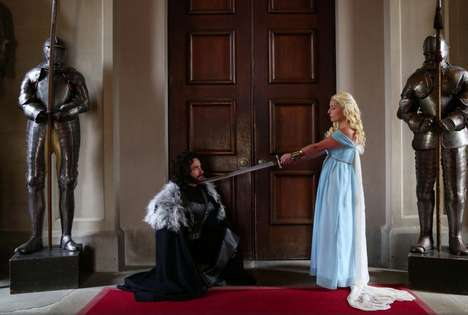 Fantasy Show Weddings - This Game of Thrones Fantasy Wedding Ceremony is One-of-a-Kind