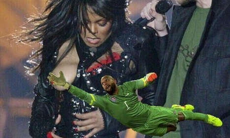 Soccer Save Memes - Tim Howard Won the Internet with a Series of Dedicated Memes
