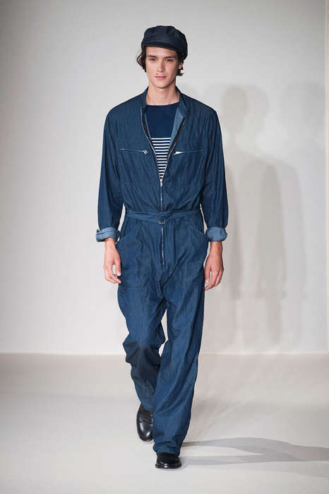 Retro Workwear Runways - The Agnes B. Spring/Summer 2015 Collection is Elegantly Parisian