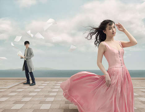 Surreal Perfume Photography - Miss Dior by Liu Lijie is Part of the Brand