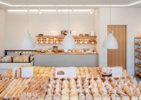 Spacious Oak Bakeries - Skyle Bakery Features an Industrial Design