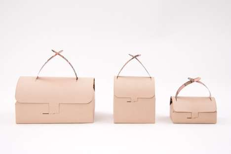 Purse-Like Takeout Bags - Gustav Karlsson Reimagines the Take Out Box to Be Chic and Eco-Friendly