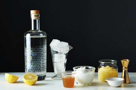 Frothy Yogurt Cocktails - This Pearls Before Swine Drink Gets its Frothy Texture From Greek Yogurt