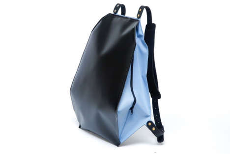 Inflatable Protective Packs - The Fugu Bag Guards Your Electronic Devices in Crowded Urban Areas