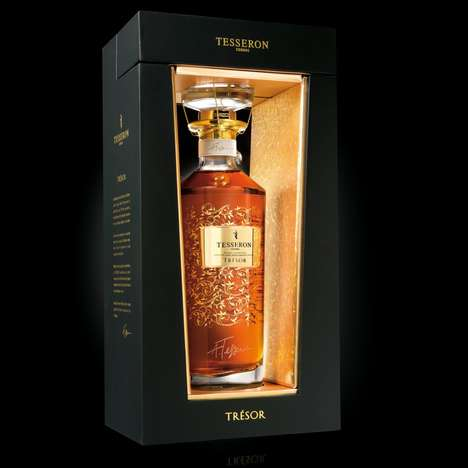 Framed Cognac Packaging - Tesseron