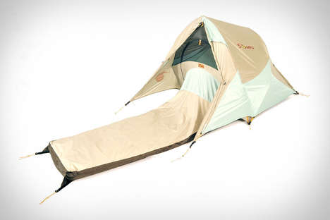 Sleeping Bag-Tent Hybrids - The Solo Shelter is a Camping Necessity Made for One