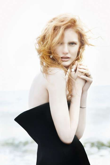 Beachy Redhead Editorials - The L'Officiel Mexico