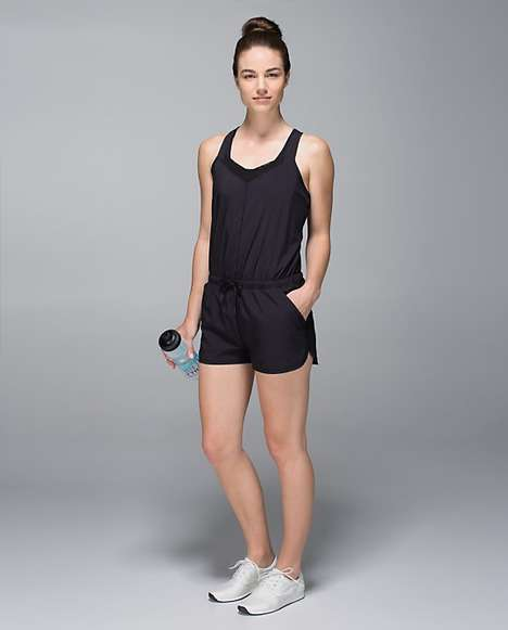 One-Piece Runner Outfits - The Lululemon Running Onesie Keeps You Cool (Looking) While On a Run