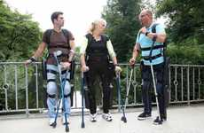 Spine-Aiding Suits - The ReWalk Exoskeleton is a Recently FDA-Approved Suit for the Disabled