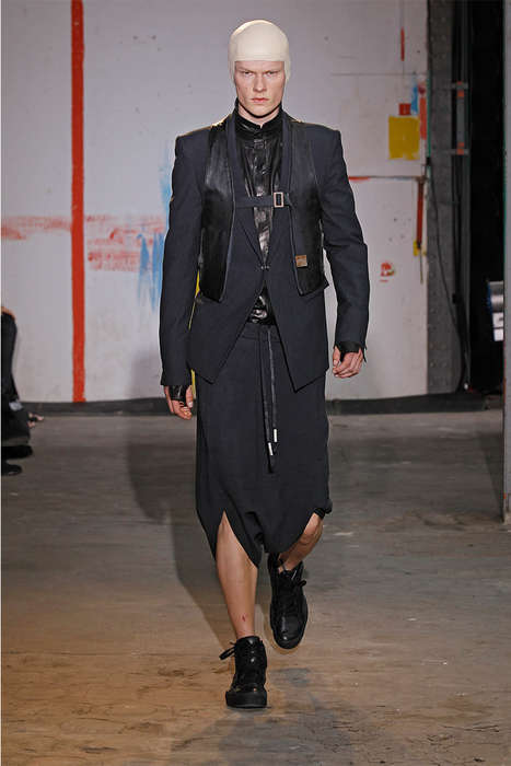 Modernized Uniform Attire - The Boris Bidjan Saberi Spring/Summer 2015 Collection is Militant