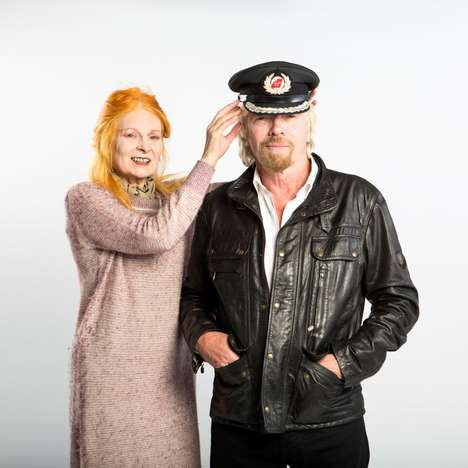 Designer Flight Uniforms - Designer Vivienne Westwood Redesigns Virgin Atlantic