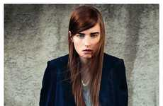 Raw Urban Editorials - This Madame Germany Urban Fashion Editorial Features Simple City Looks