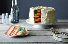 Patriotic Pastries - This Fourth of July Cake is Baked to Resemble the American Flag