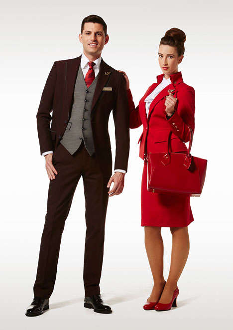 Designer Flight Uniforms (UPDATE) - Westwood Designs Stylish Flight Uniforms for Virgin Atlantic