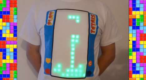 DIY Gaming Shirts - You Can Create Your Own Tetris T-Shirt Thanks To Instructions From Marc Kerger