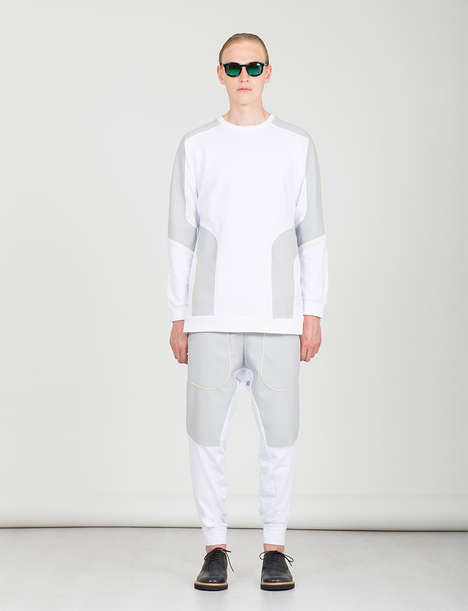 Uniformed Minimalism Catalogs - The P E B Clothing Spring/Summer 2015 Lookbook is Youthfully Bold