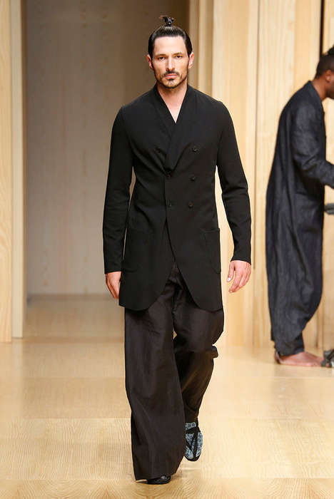 Urban Samurai Runways - The Josep Abril Spring/Summer 2015 Collection is Elegantly Modern