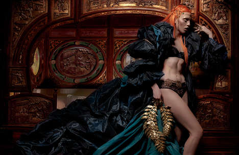 Underworld Queen Editorials - The Schon Magazine