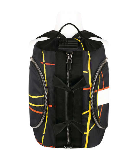 Luxury Hiking Gear - Givenchy Launches The 17 Backpack Collection for Fall/Winter 2014