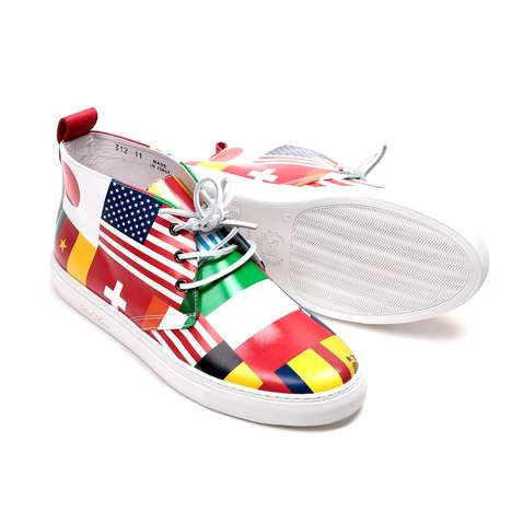 Flag Mashup Sneakers - Del Toro