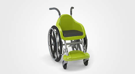 Kid-Friendly Wheelchairs - This Ergonomic and Affordable Wheelchair Design was Created For Children