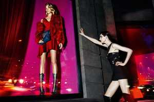 The Versace Fall 2014 Campaign is Sophisticated and Sensual