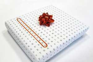 Wordless Design's Universal Gift Wrap Includes 20 Different Greetings