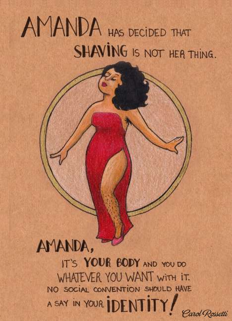 Liberating Feminist Illustrations - Carol Rossetti