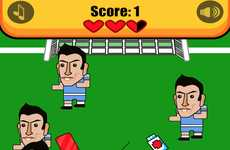 Biting Soccer Player Games
