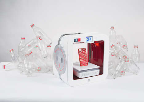 Recycled Plastic Printers - The Ekocycle 3D printer Repurposes PET Plastic