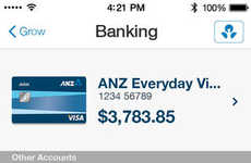 Comprehensive Banking Apps - The Grow by ANZ Banking App Aids in Basic & Expert Finance Management