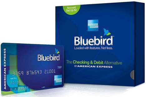 Alternative Online Banks - Bluebird by American Express Does Away with Traditional Checking Accounts