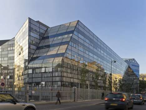 Fragmented Glass Structures - Imagine Institute by Ateliers Jean Nouvel and Valero Gadan Architectes