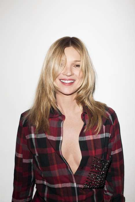 Anarchistic Streetwear Lookbooks - Kate Moss and Wiz Khalifa Star in Eleven Paris