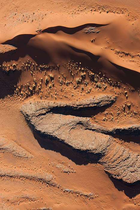 Infinite Desert Photography - This Namibian Desert Photo Series Resembles Melted Chocolate