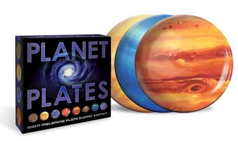 Spacey Party Plates - These Space Dinner Plates Are Perfect for Out of This World Entertaining