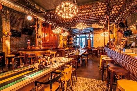 Artisan English Alehouses - Bucharest's Biutiful Bar Design by Twins Studio Brings the UK to Romania