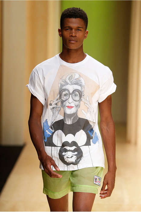 Vivid Iconography Menswear - The Brain&Beast; Spring/Summer 2015 Collection Tributes Style Icons