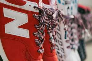 The Flat Flag Bait Shoelaces are Perfect for this Fourth of July Weekend